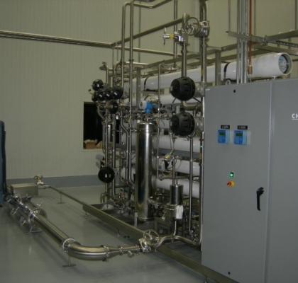 Atlantium Reversa Osmosa membrānu aizsardzība un ūdens UV-dehlorēšana